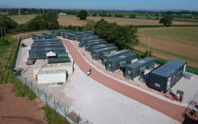'Landmark' council owned storage site in Somerset energised